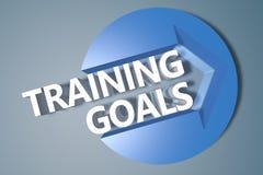 Цели тренировки Стоковое Изображение