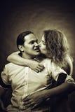 целовать стоковая фотография rf