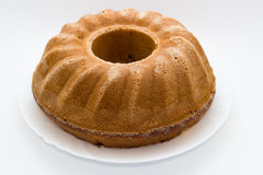 Испеченный торт стоковое изображение