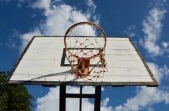 Цель баскетбола Стоковое Изображение RF
