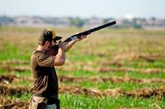 Цель взятий охотника голубя Стоковое Изображение RF