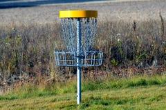 Цель гольфа диска стоковые фотографии rf