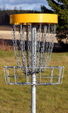 Цель гольфа диска стоковое фото