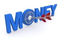 Цель денег Стоковая Фотография RF
