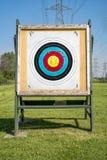 Цель на растояние archery стоковое фото