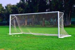 Цель футбола стоковая фотография