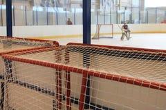 Цель хоккея замены Стоковая Фотография