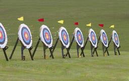 Цель Archery стоковая фотография rf