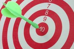 Цель dartboard Стоковое Изображение