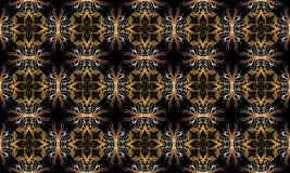 циклическая флористическая картина геометрии Стоковое Изображение RF