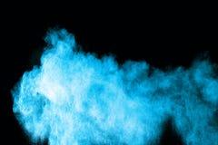 Цинковая пыль splatted на белой предпосылке стоковые фото