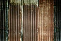 цинк стены Стоковая Фотография RF
