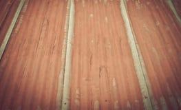Цинк с ржавчиной Стоковая Фотография RF