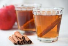 циннамон сидра яблока стоковая фотография