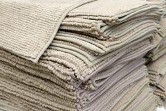 циновка Анти--выскальзывания прорезиниванная тканью для ванны или ливня стоковые фото