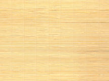 циновка бамбука предпосылки Стоковая Фотография RF
