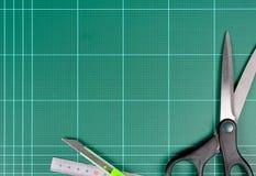 Циновка вырезывания Стоковое Фото