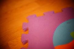 Циновка головоломки Стоковая Фотография RF