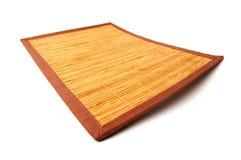 циновка деревянная Стоковая Фотография