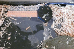 циновка жары Стоковое Изображение