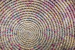 циновка круглая Стоковая Фотография RF