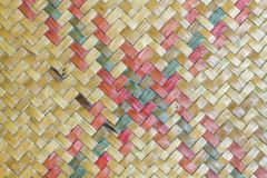 Циновка Таиланда для текстуры стоковое фото
