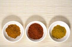 циновка шаров spices сторновка 3 Стоковая Фотография