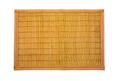 циновка деревянная Стоковое Изображение