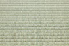 Циновка Tatami, справляться materieal в традиционных комнатах японского стиля Стоковая Фотография