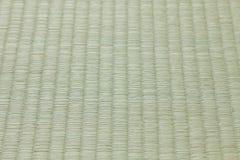 Циновка Tatami, справляясь материал в традиционных комнатах японского стиля Стоковое Изображение RF