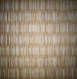 Циновка Tatami Японии с виньеткой стоковая фотография rf