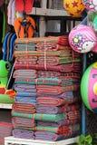 Циновки пляжа на дисплее на тайском vendir Стоковое Изображение