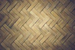 Циновки текстуры крупного плана сделанные бамбука Стоковое Фото