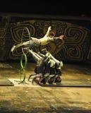 Циркаческая выставка - театр Chaoyang, Пекин Стоковые Фото