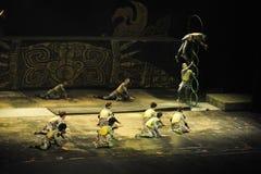 Циркаческая выставка - театр Chaoyang, Пекин Стоковое фото RF