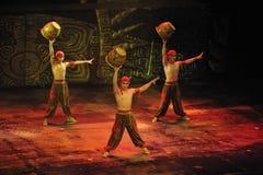 Циркаческая выставка - театр Chaoyang, Пекин Стоковая Фотография RF