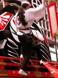 циркаческий барабанщик Стоковое Фото