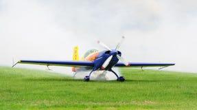 Циркаческий румынский самолет команды Стоковая Фотография RF