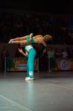 Циркаческий Утес-n-крен Стоковые Изображения RF