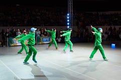 Циркаческий Утес-n-крен Стоковые Фото