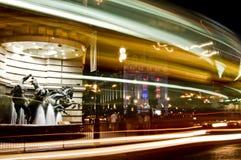 цирка лошадей статуя piccadilly Стоковая Фотография