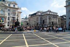 цирка туристы picadilly стоковые фото