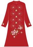 Циркуляр одежды ` s женщин большой и малый жасмина иллюстрация штока