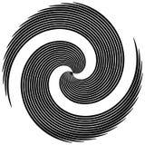 Циркуляр, излучая абстрактную форму, мотив Elem геометрического дизайна иллюстрация штока