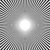 Циркуляр, линии геометрическая картина нашивок Monochrome illustrati Стоковое Фото