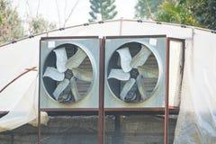 Циркуляция воздуха и вентиляция парника стоковое изображение rf