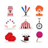 Цирк для дизайна торжества иллюстрация вектора