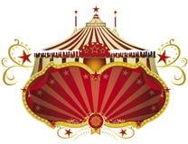 Цирк знака рождества стоковые изображения