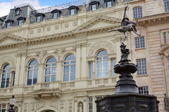 Цирк Лондона Piccadilly в Великобритании стоковые изображения rf