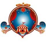 Цирк штемпеля большой верхней части Стоковое Изображение